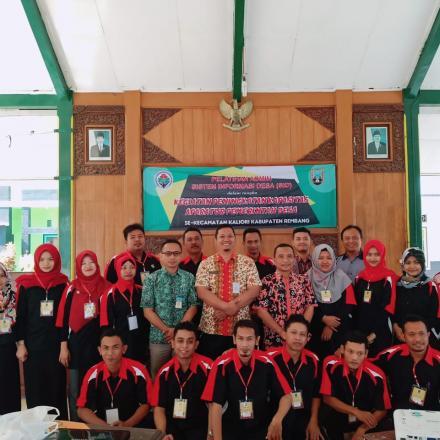 23 Desa Di Kecamatan Kaliori Mengikuti Pelatihan SID